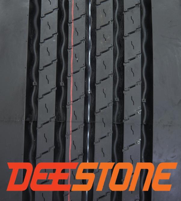 Рисунок протектора грузовой шины Deestone SW413 385/65r22.5