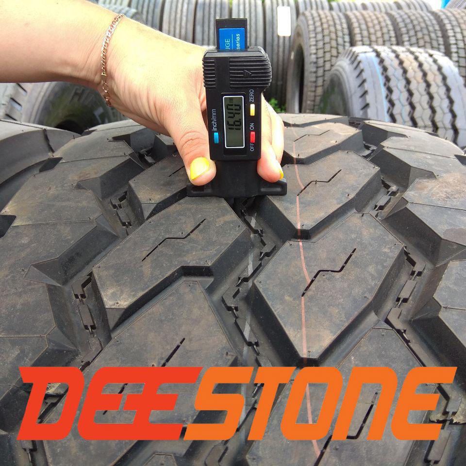 Глубина протектора шины 385/65 r22.5  Deestone SK421