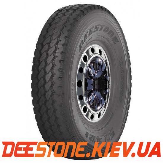 9.00 R20 (260R508) DEESTONE SK421 141/139K (Таиланд) универсальная / рулевая / карьер