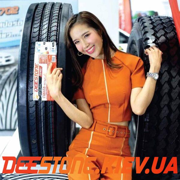 235/75 R17.5 DEESTONE SV401 143/141J 16PR (Таиланд) универсальная / рулевая
